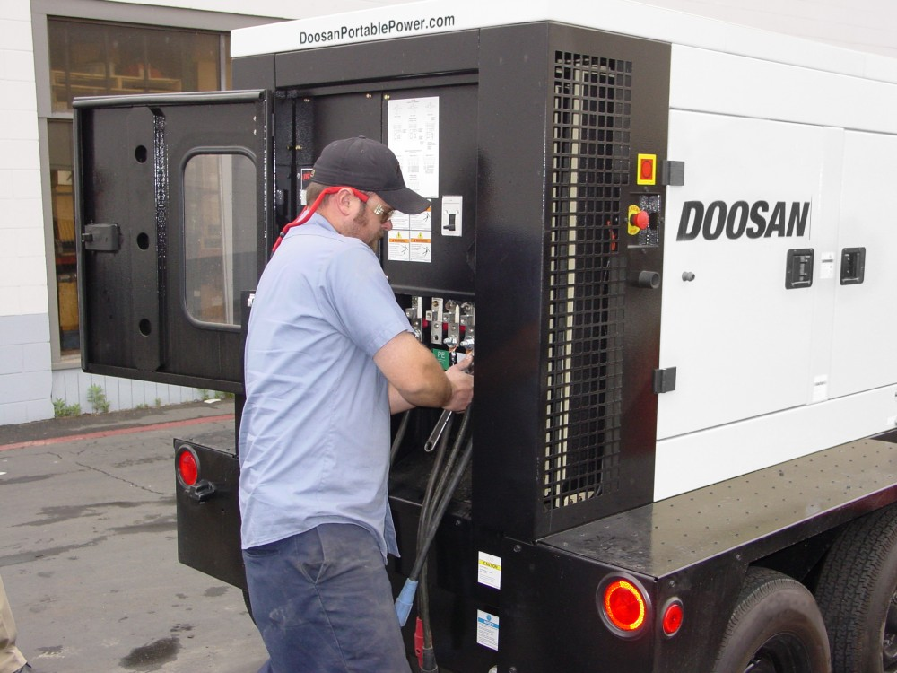 Doosan P185 Air Compressor