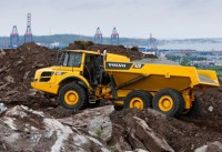 Volvo A25F Articulated Hauler