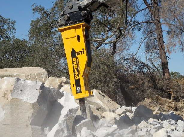 Montabert V1200 Hydraulic Breaker