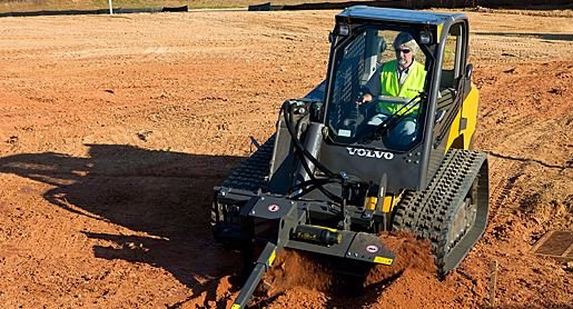 Volvo Skid Steer Loader MCT110C