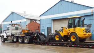 McClung-Logan is experienced with heavy equipment transportation