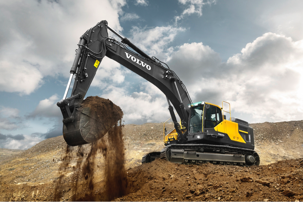 Excavators from McClung-Logan Equipment Company